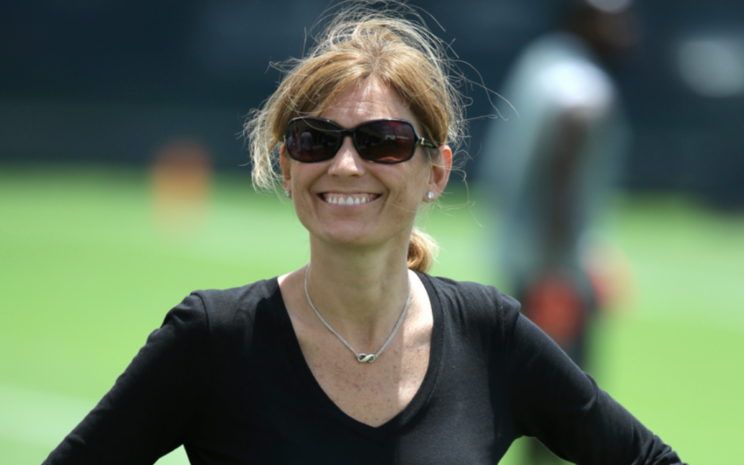 Kim Ng broke down a barrier — and may help open a door for a female GM in the NFL