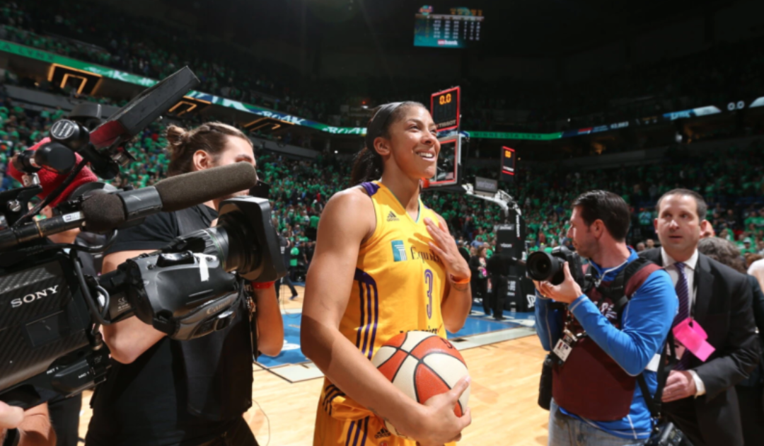 'This Kid's Special': Candace Parker Owned L.A. From Day 1