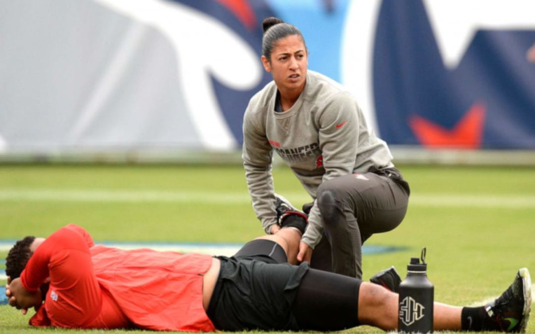Tampa Bay Buccaneers' female coaches speak out about making history at Super Bowl