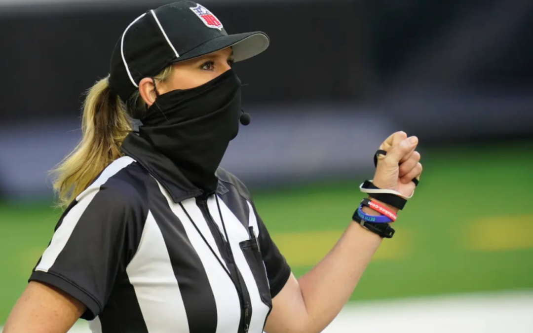 The NFL allowed a small change to ref uniforms and now Sarah Thomas can wear a ponytail in the Super Bowl