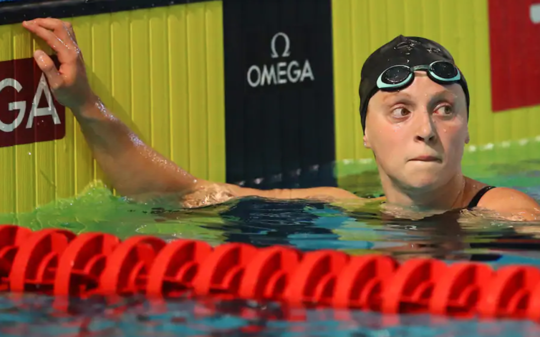 With eyes on Tokyo, Katie Ledecky returns to find out what a difference a year makes