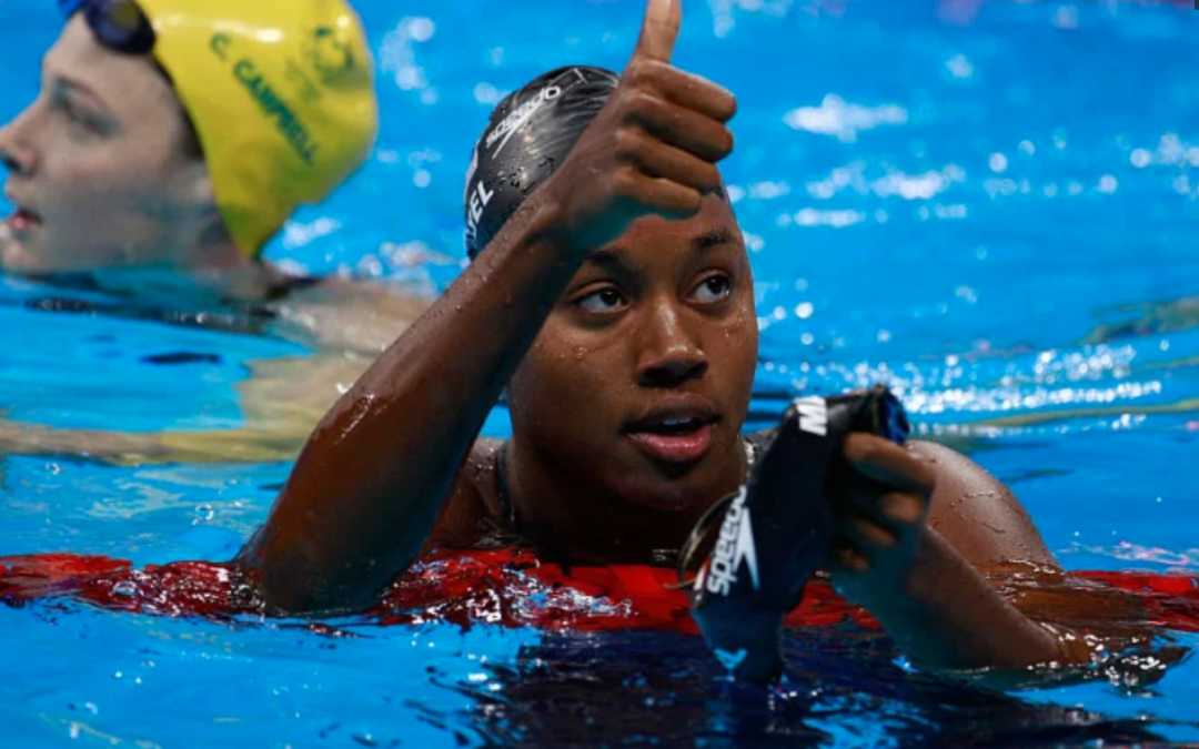 Simone Says: Texas Olympic Champ Pushes for Change in, Out of Pool