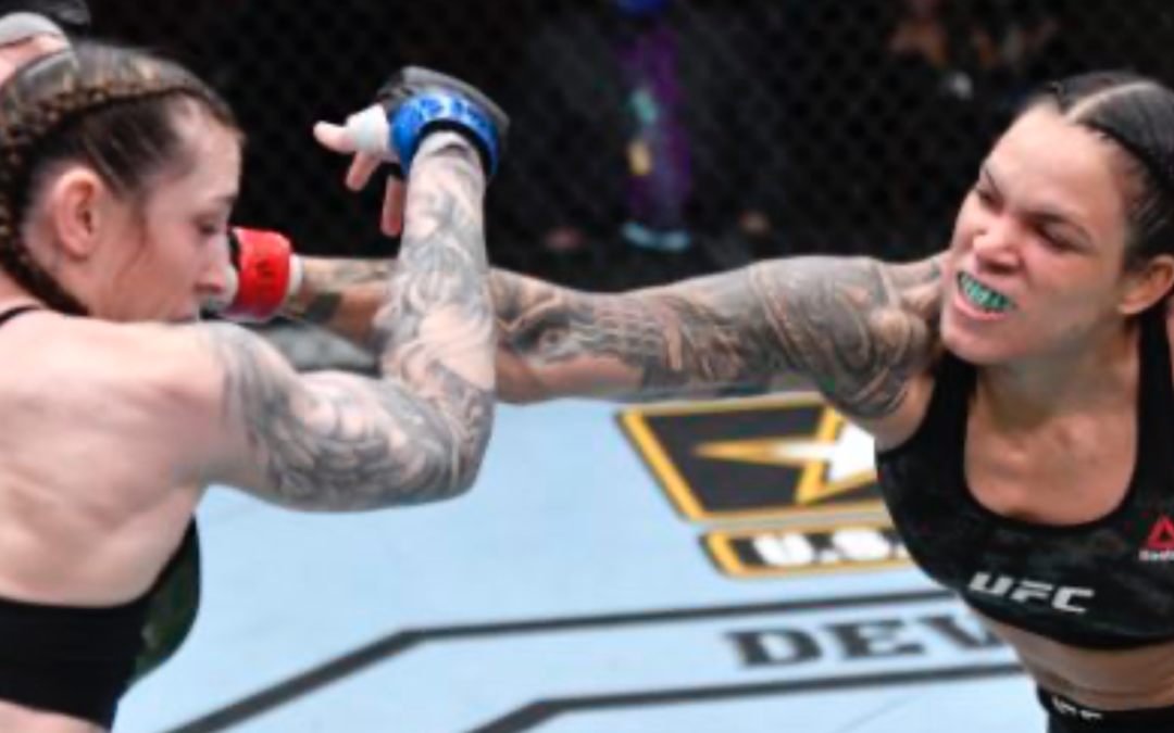 UFC 259: Amanda Nunes Quickly Submits Overmatched Megan Anderson