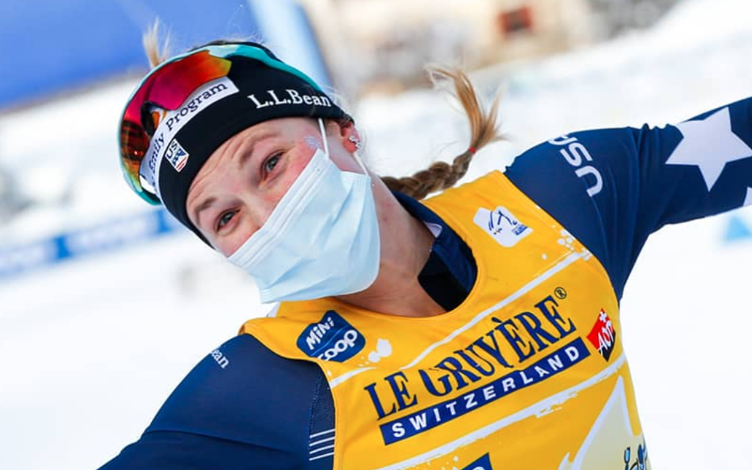 Jessie Diggins Becomes First U.S. Woman to Win FIS Cross-Country World Cup Title