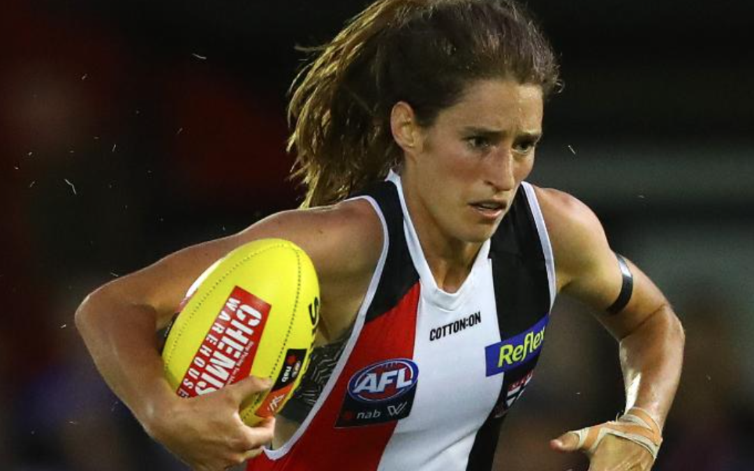 Frisbee and oval ball star Cat Phillips fired up by fight for gender equality