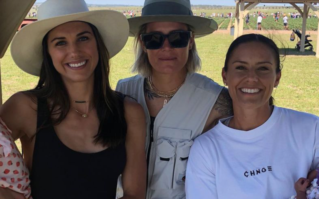 Baby Goals! New Moms Ashlyn Harris and Ali Krieger Join Alex Morgan for Mother-Daughter Outing