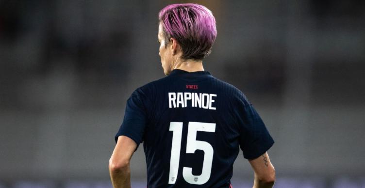 Rapinoe: USWNT jersey equal pay fight not U.S. Soccer