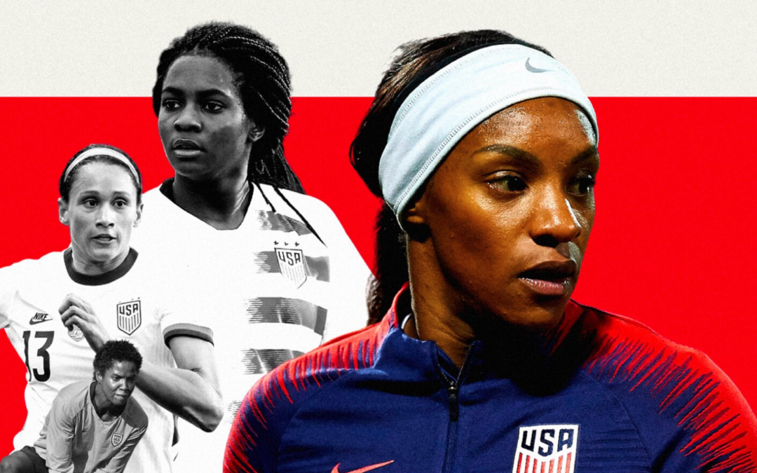 'Please don't shrink': The movement to elevate Black women in U.S. soccer