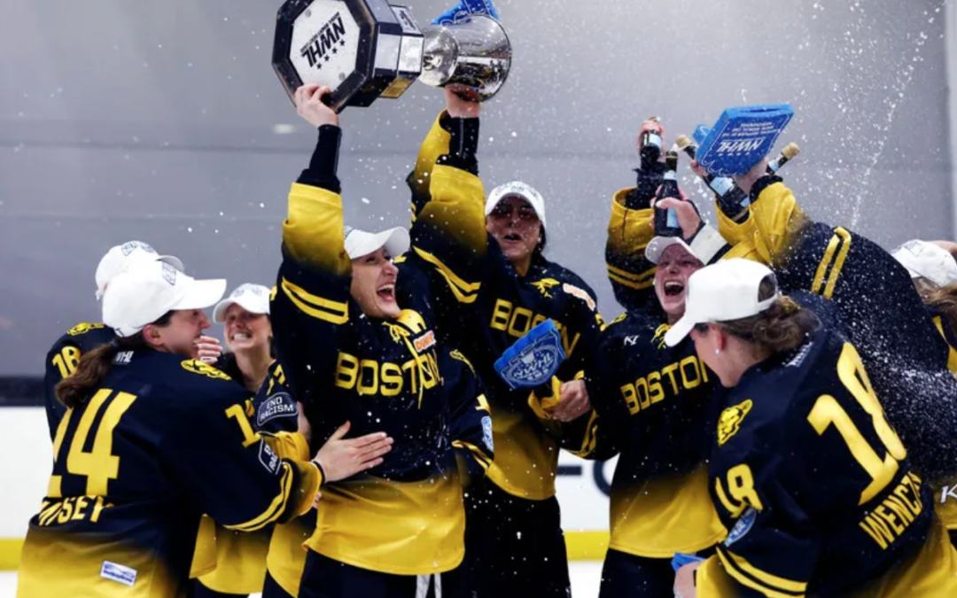 Boston Pride win their second Isobel Cup as champions of the National Women's Hockey League