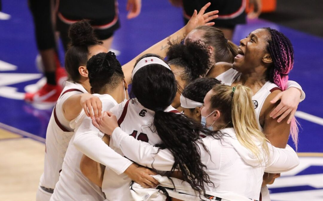 South Carolina beats Georgia to win SEC women's hoops tournament