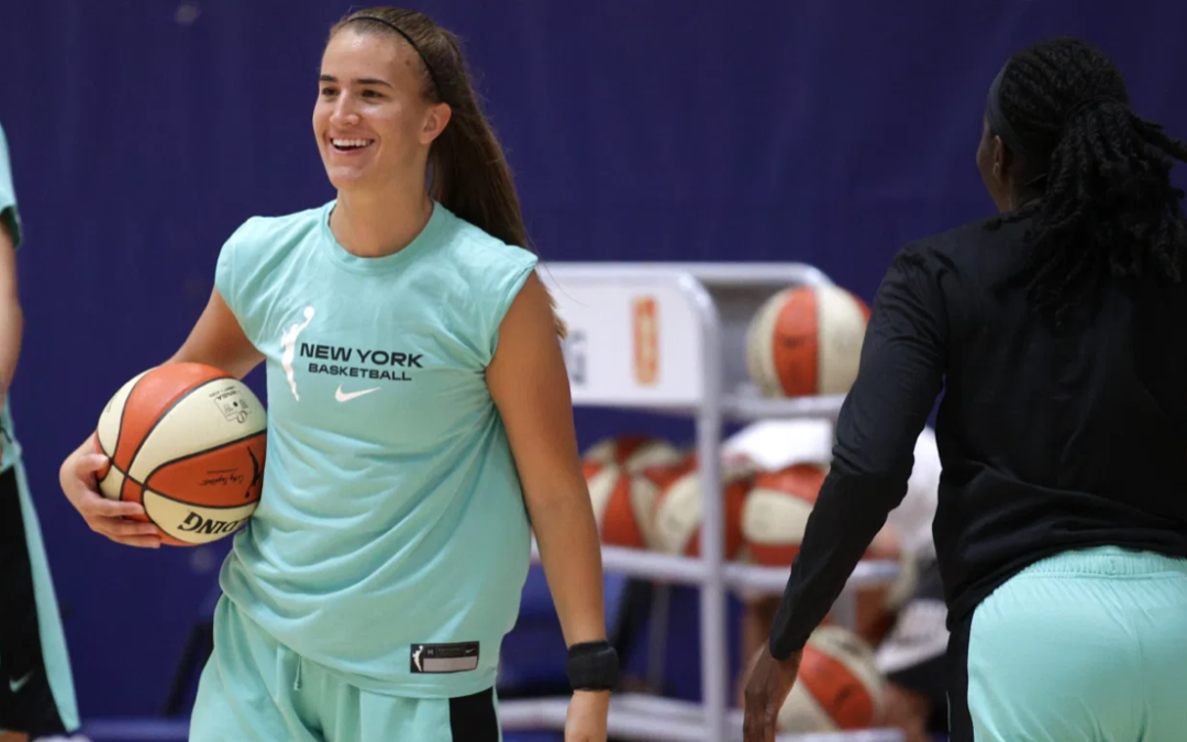 Sabrina Ionescu headlines her first shoe as Nike's next star