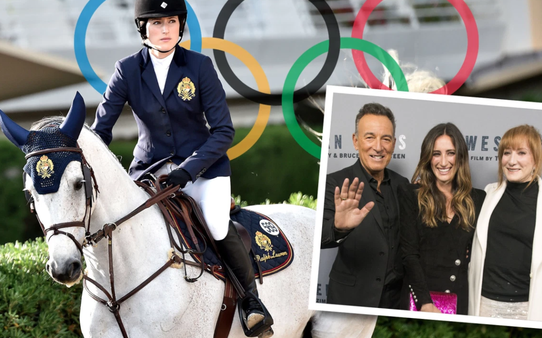 Bruce Springsteen's daughter Jessica vying for Olympic equestrian team