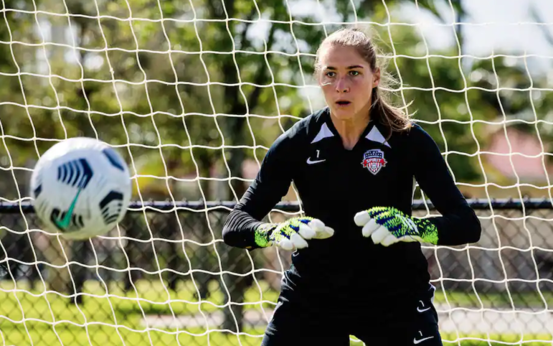 Aubrey Bledsoe's present is on the soccer pitch. Her future, she hopes, is in the boardroom.