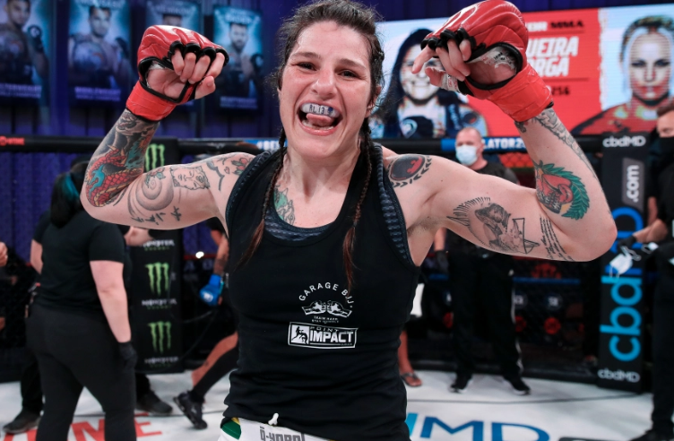 Talita Nogueira sets sights on Cat Zingano after first MMA win since 2017