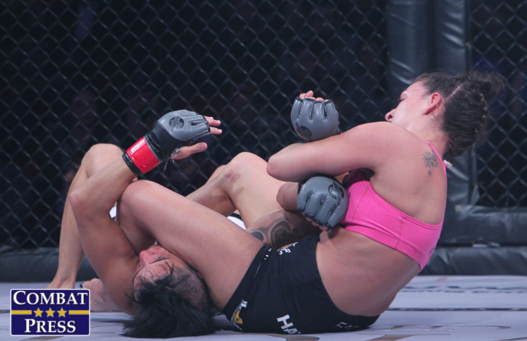 Women's MMA Weekend Review: Dern and Avsaragova Pick Up Quick Finishes