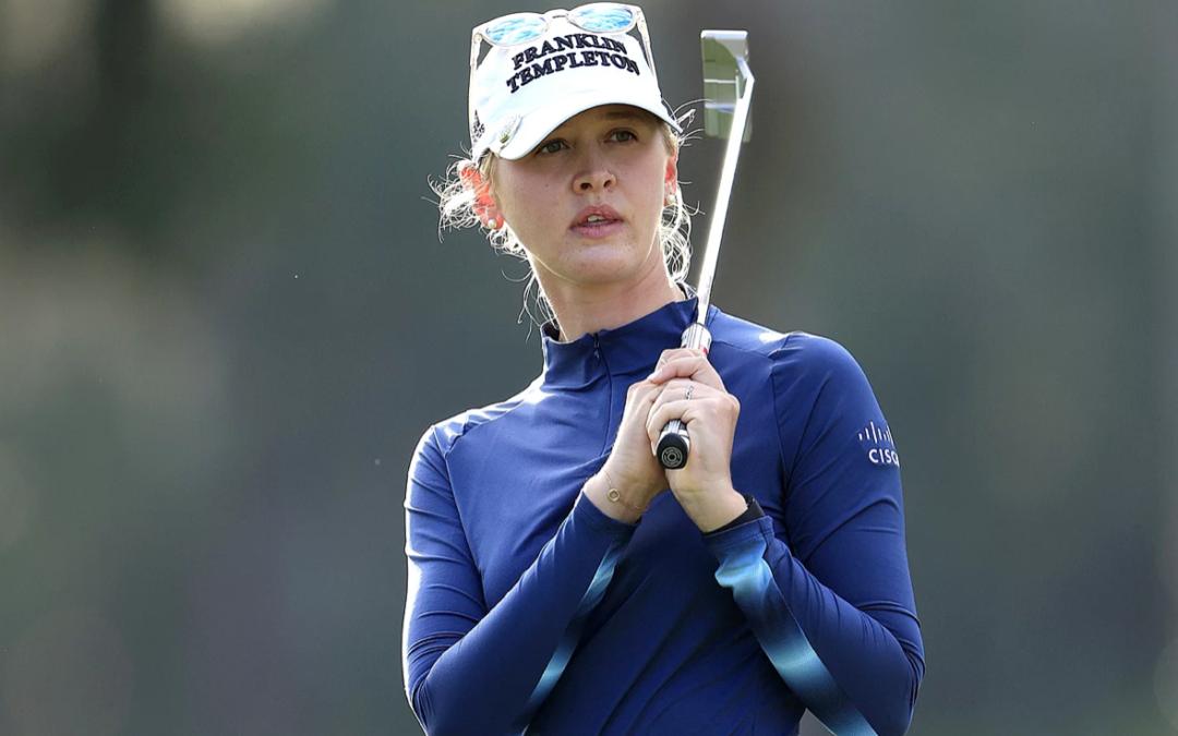Golfer Jessica Korda Yells 'Kobe!' After Scoring Eagle with Amazing Shot at Lotte Championship