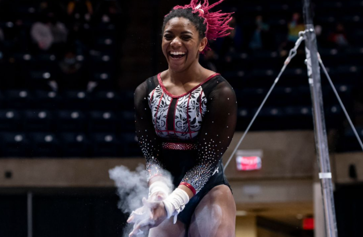 Lynnzee Brown's incredible path to the 2021 NCAA gymnastics championships