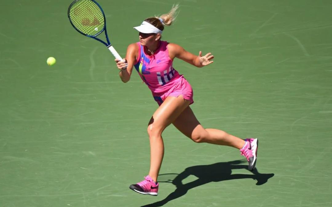 Tennis: Viral video shows teenager Marta Kostyuk making impossible shot at Istanbul Cup
