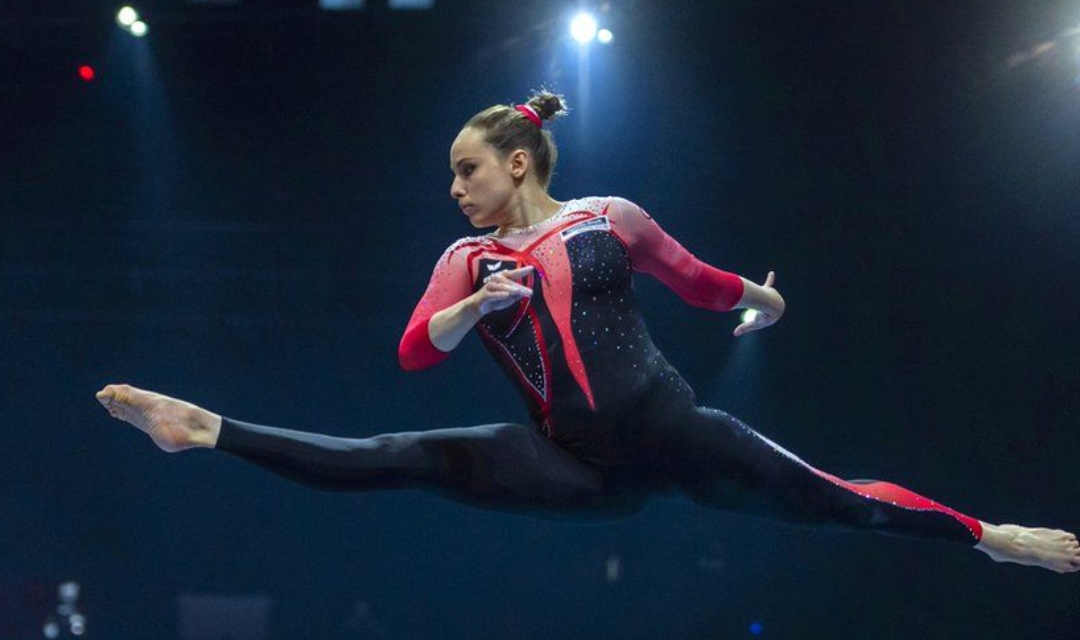 Sarah Voss: German gymnast's outfit takes on sexualisation in sport