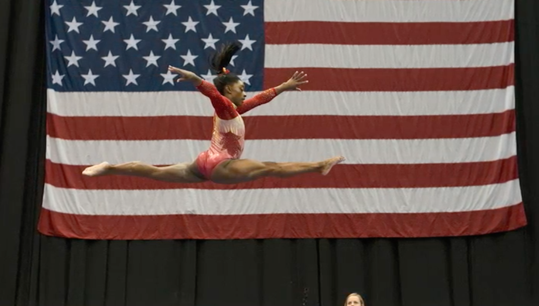 Simone Biles partners with Athleta after six years at Nike