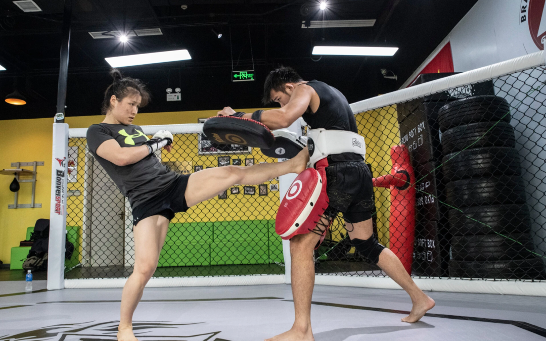 China's Top Mixed Martial Arts Star Isn't Fighting for a Cause