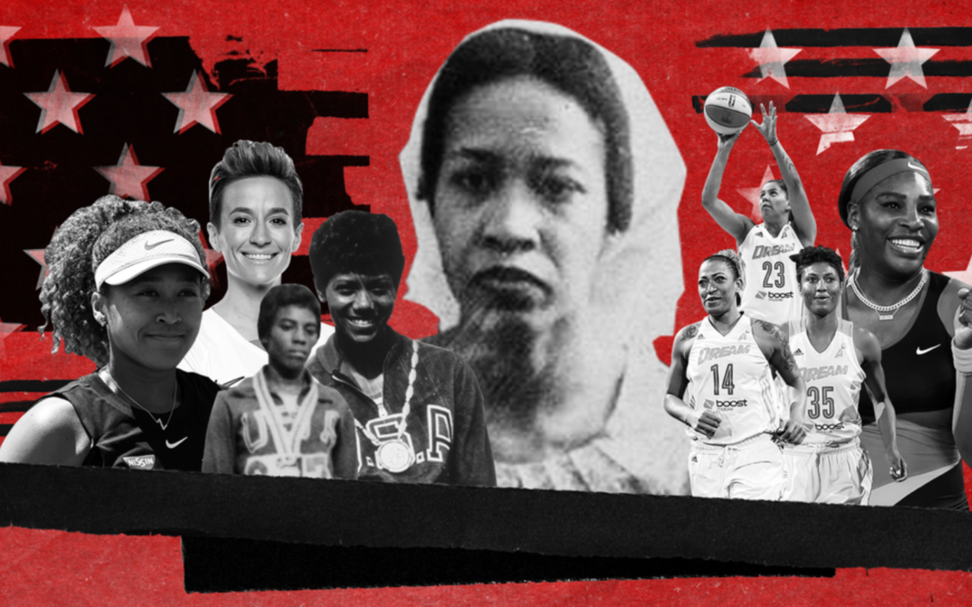 Long before Colin Kaepernick knelt, a Black female athlete defied the US National Anthem, but she's been largely forgotten