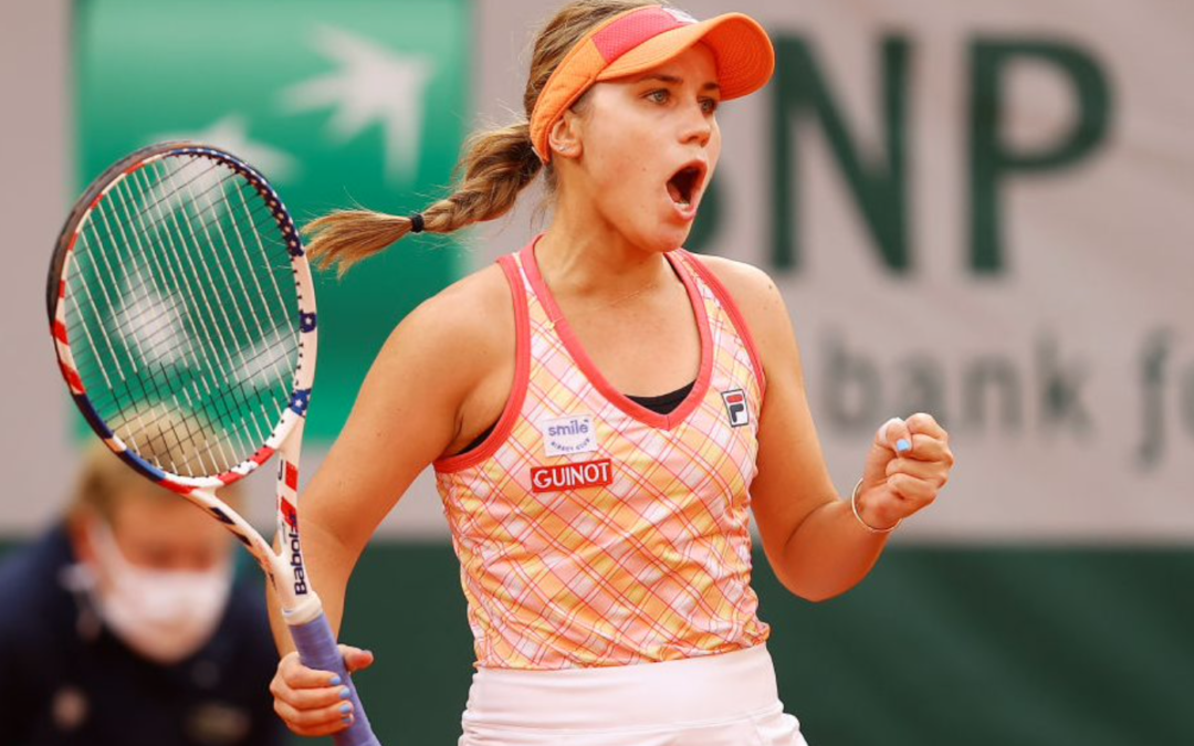 Sofia Kenin is first U.S. tennis player to meet Olympic qualifying criteria
