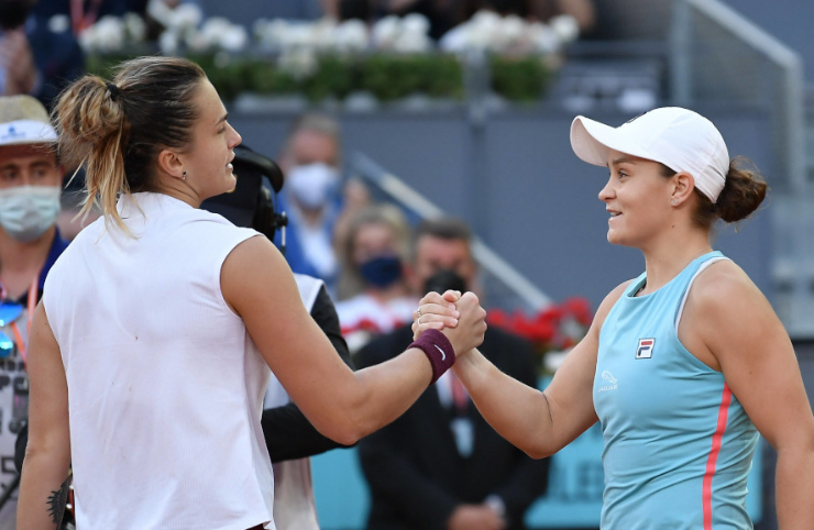 WTA Italian Open draw: Ash Barty and Aryna Sabalenka set for rematch; Naomi Osaka and Serena Williams in same quarter