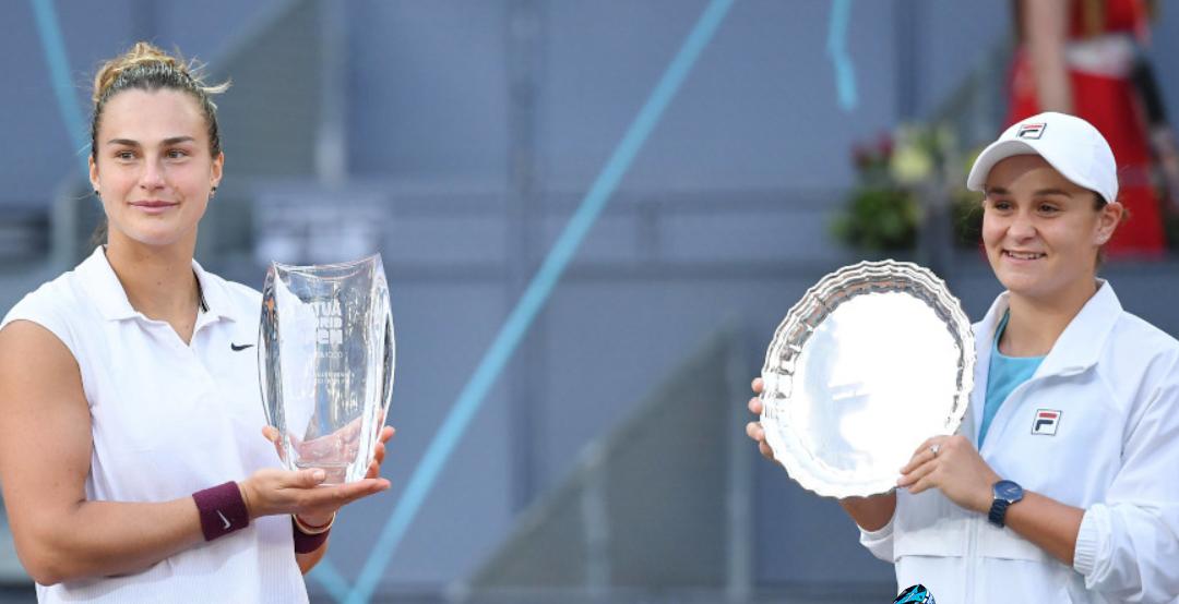 Emergence of Ashleigh Barty-Arena Sabalenka rivalry illustrative of generational change in women's tennis