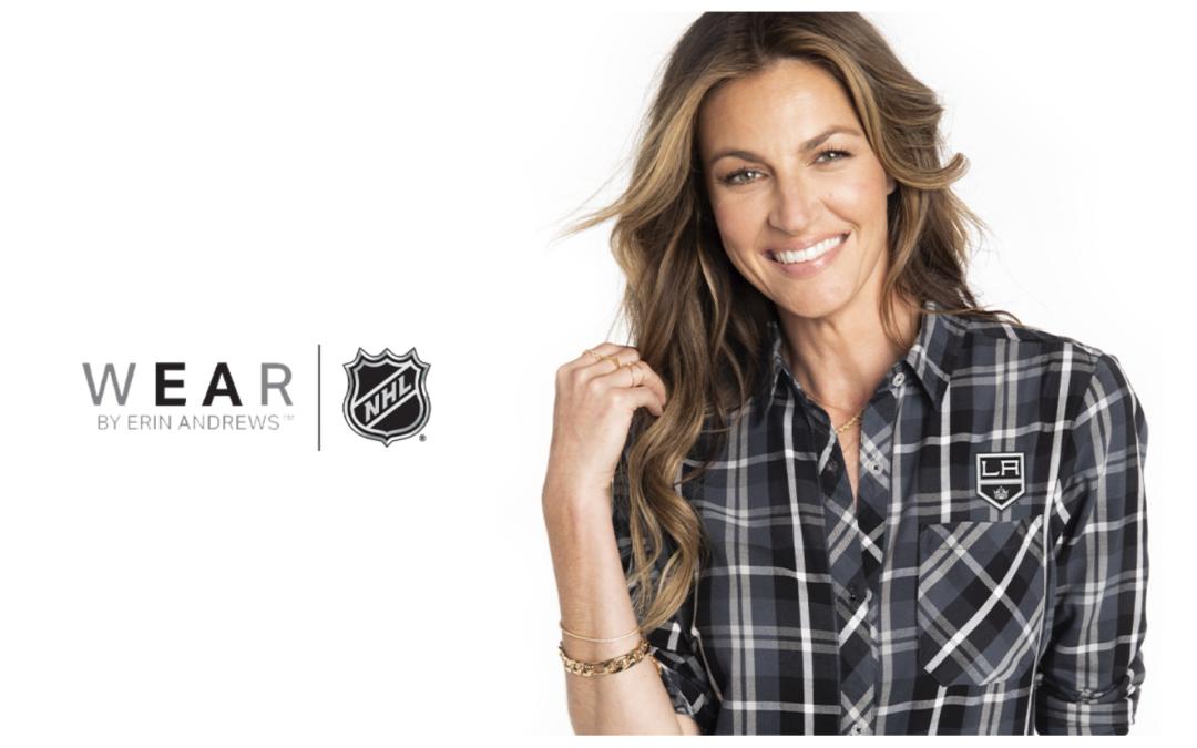 Erin Andrews' Wear Brand Inks NHL Deal for Women's Apparel Line