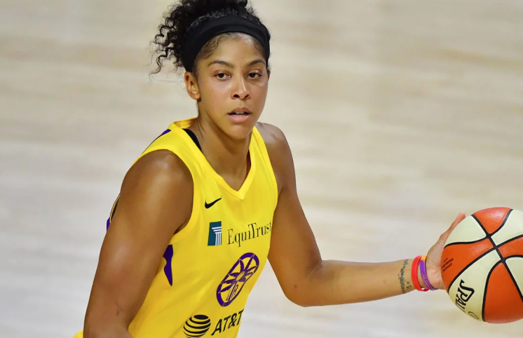 Candace Parker on What She'd Change About the WNBA If She Were Commissioner for a Day