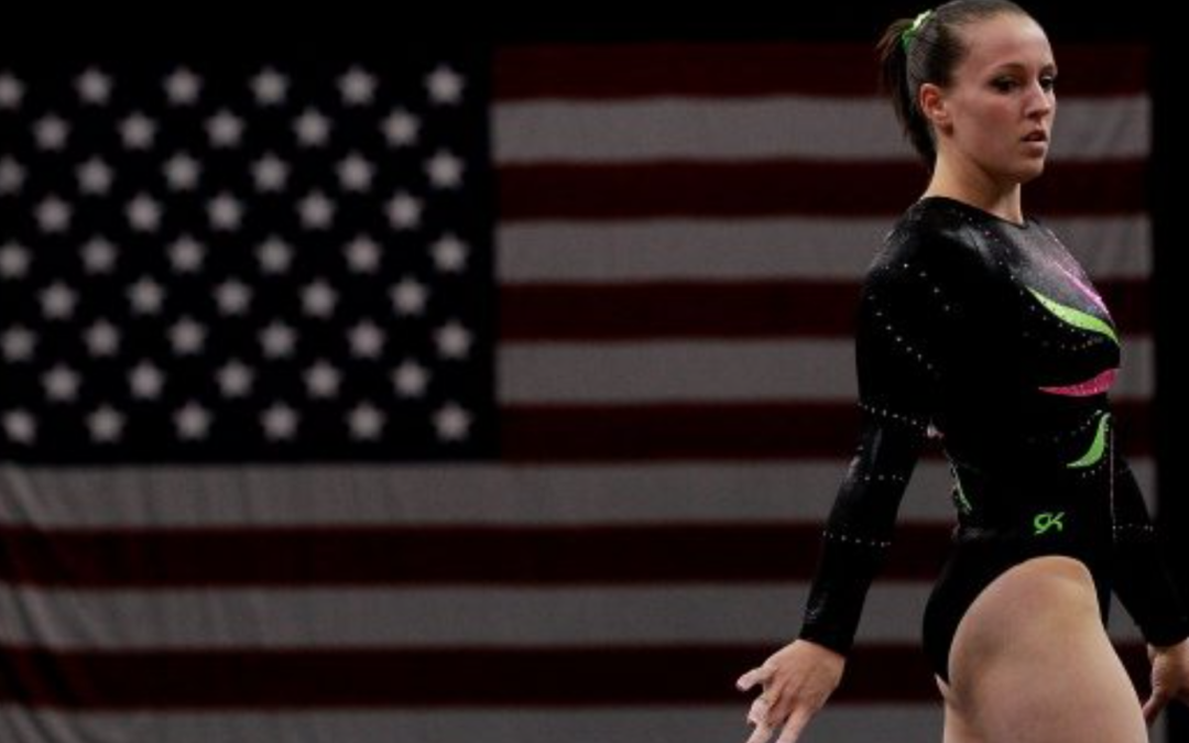 Chellsie Memmel, 2008 Olympian, enters first gymnastics meet in 9 years