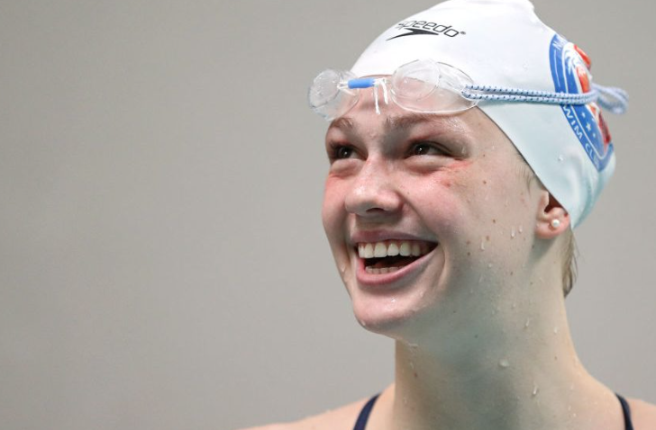 Phoebe Bacon joins elite company in U.S. swimming's strongest events