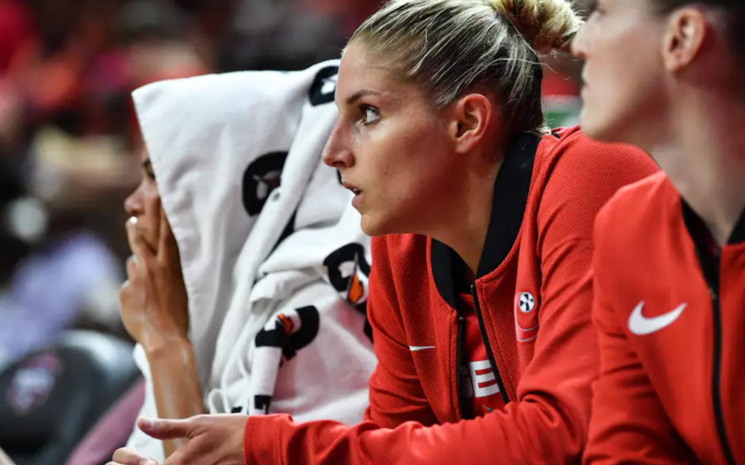 Elena Delle Donne's back pain made her question her career, but she's now eager to return
