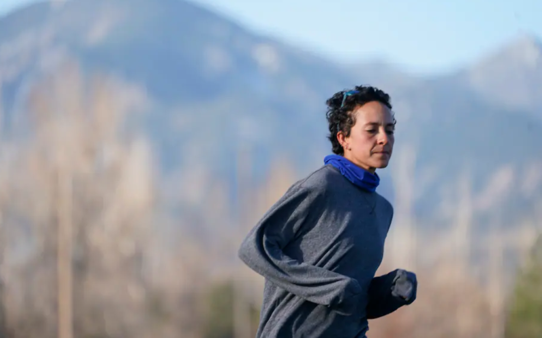 An Olympic hopeful hadn't run a race since the Boulder shooting. Her return was a personal best.