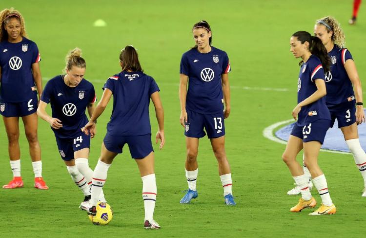 Megan Rapinoe, Carli Lloyd called into United States training camp; Julie Ertz out