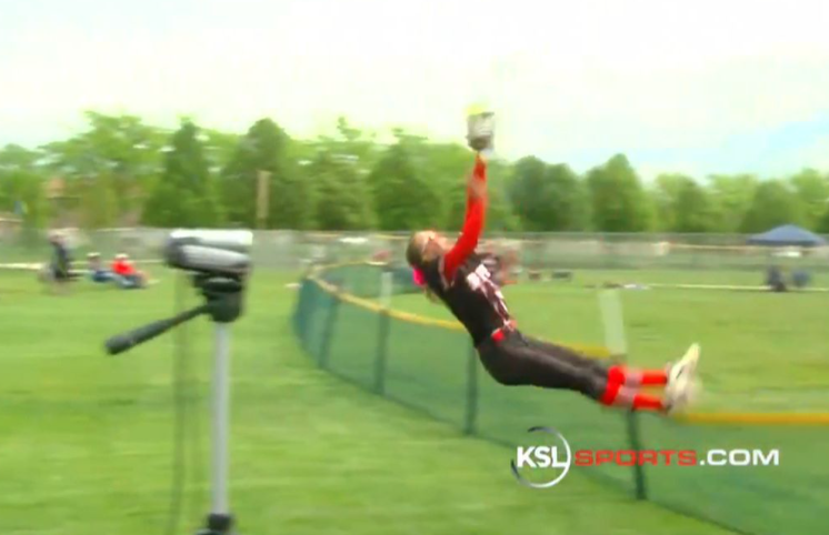'Oh my gosh, you're on SportsCenter': Life after a viral fence-clearing catch