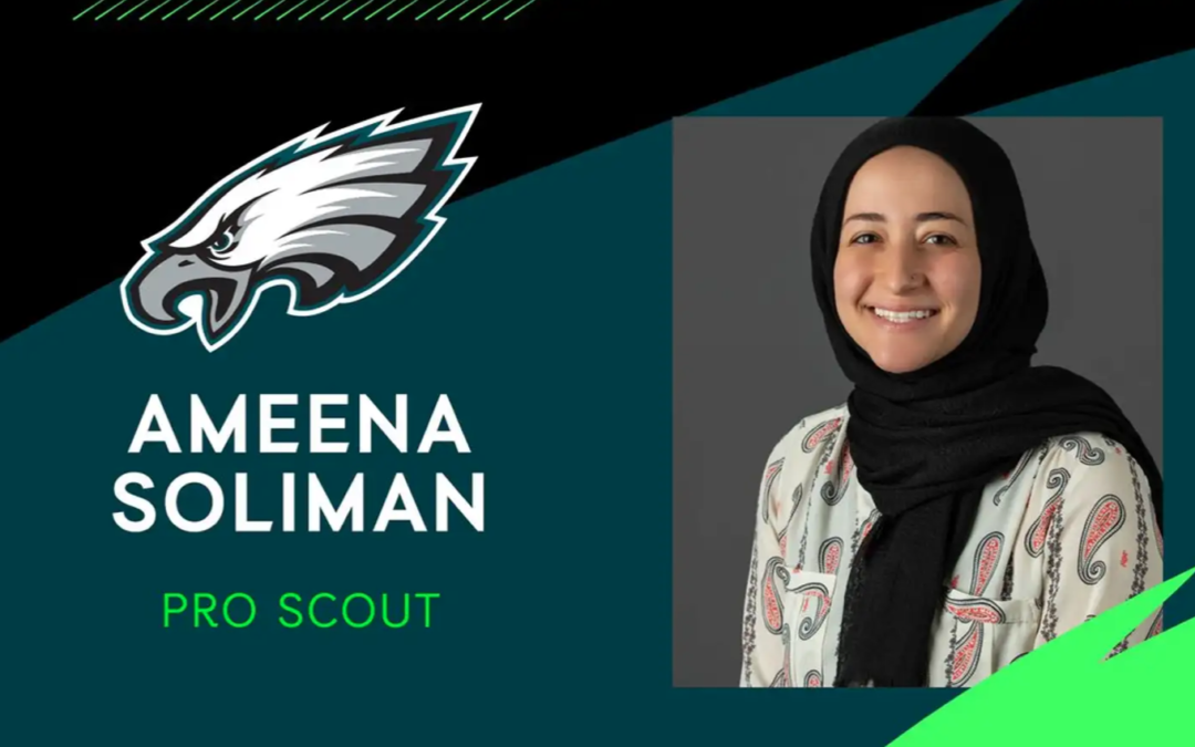 Eagles hire ridiculously qualified Muslim woman as a scout — Eagles fans predictably react horribly