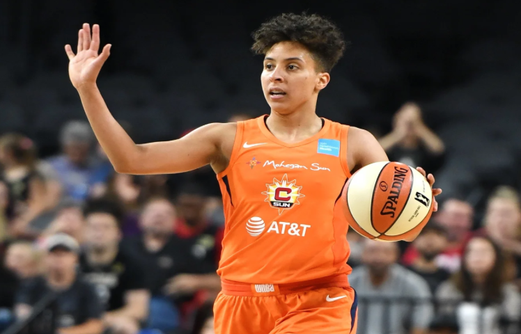 WNBA's first trans player signs with new team