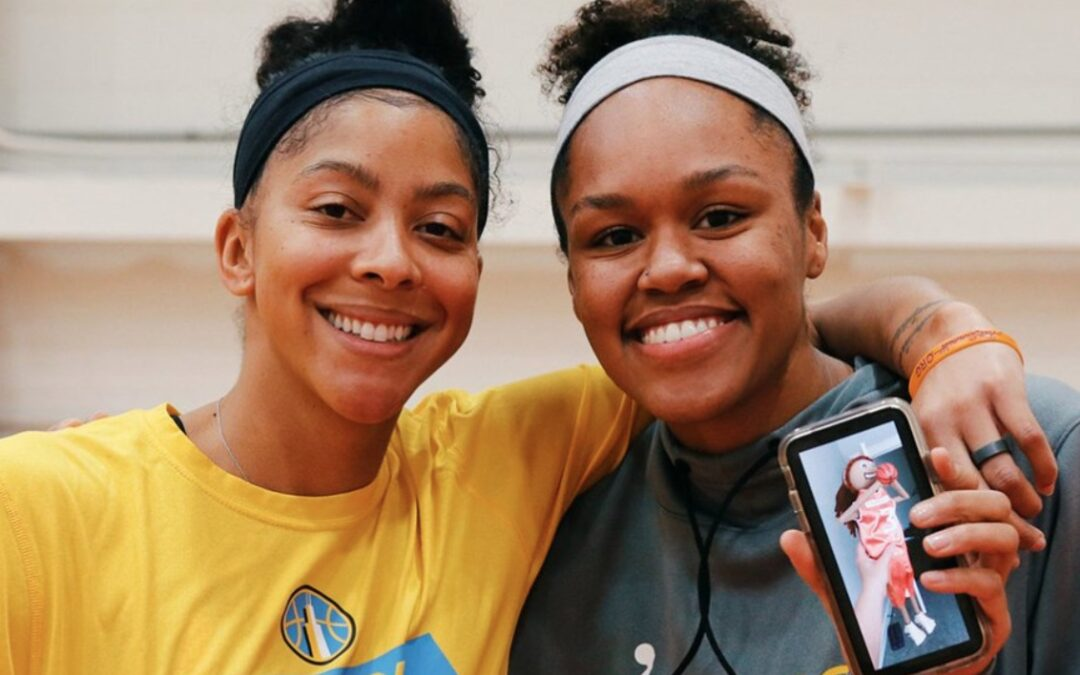Candace Parker's Sky teammate made a project about her in middle school