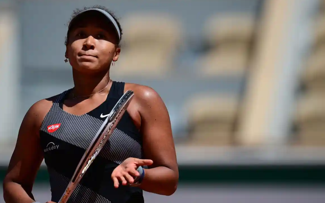 At news conferences, male athletes get to be athletes. Female athletes like Naomi Osaka get pestered.