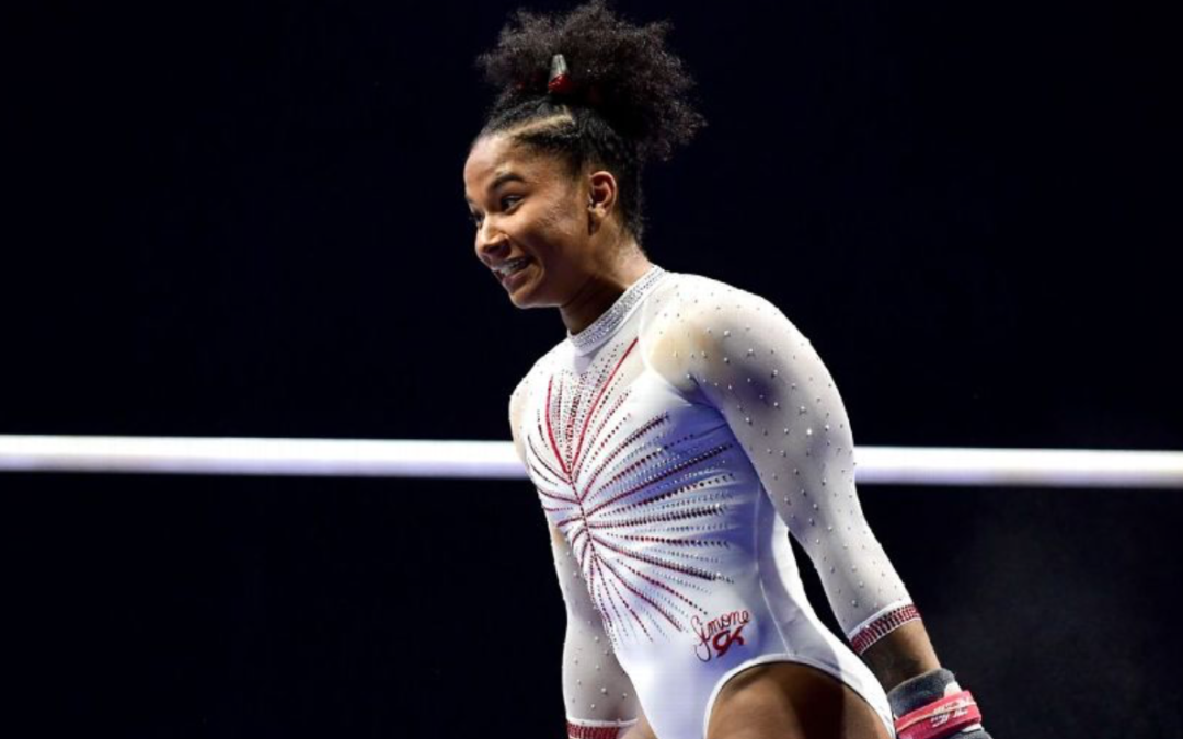 With new confidence and Simone Biles as her training mate, Jordan Chiles is ready to make the Olympic team