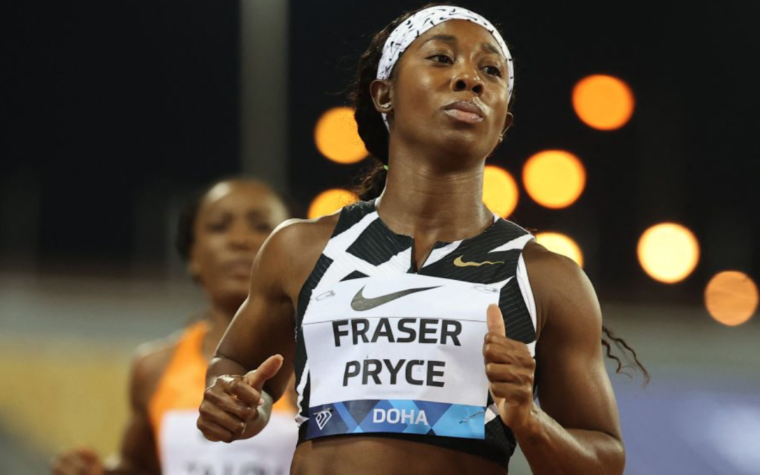 Shelly-Ann Fraser-Pryce runs world's fastest 100m since Florence Griffith Joyner