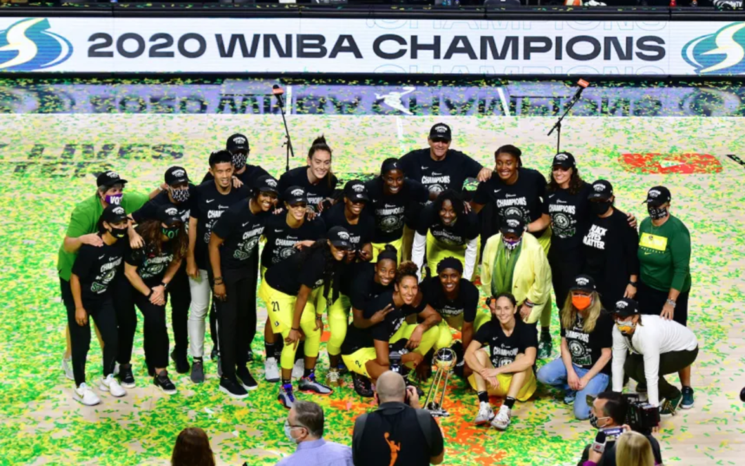 The Seattle Storm Is the Most Political Team in Sports