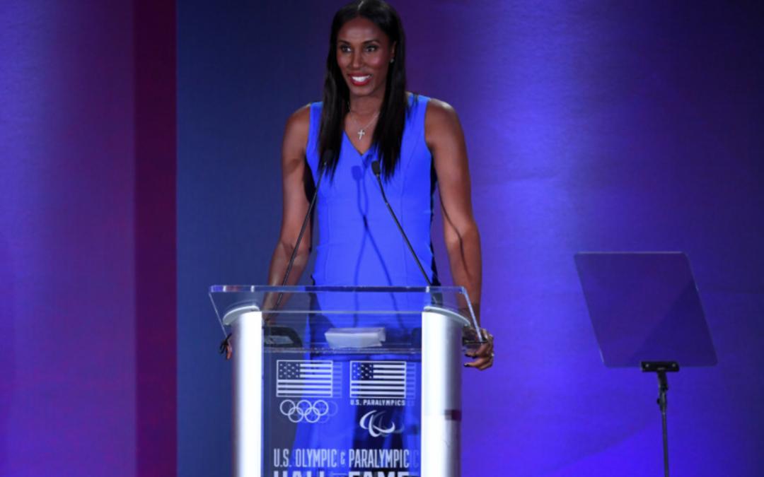 Lisa Leslie Talks 1st WNBA Dunk, Favorite Athletes, Big 3, More in B/R AMA