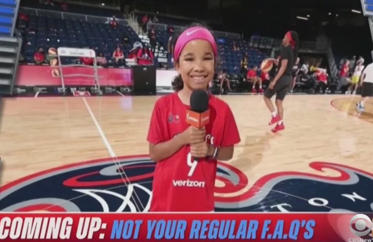 Pepper Persley, 10-Year-Old Podcaster From New York, Broadcasts NBA Playoff Game On TV