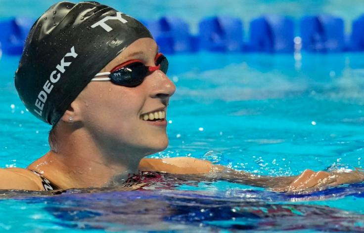 Katie Ledecky wins 400 freestyle at U.S. swimming trials; Torri Huske takes 100 butterfly with American record