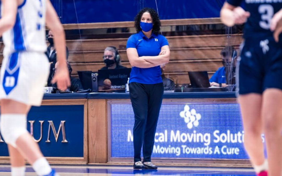 Duke's Kara Lawson on leadership and women occupying more spaces in sports