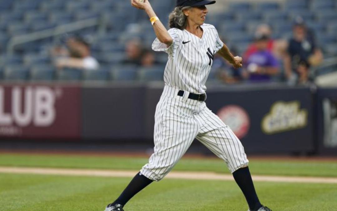 She's up! Bat girl 60 years in making reaches Yankee Stadium