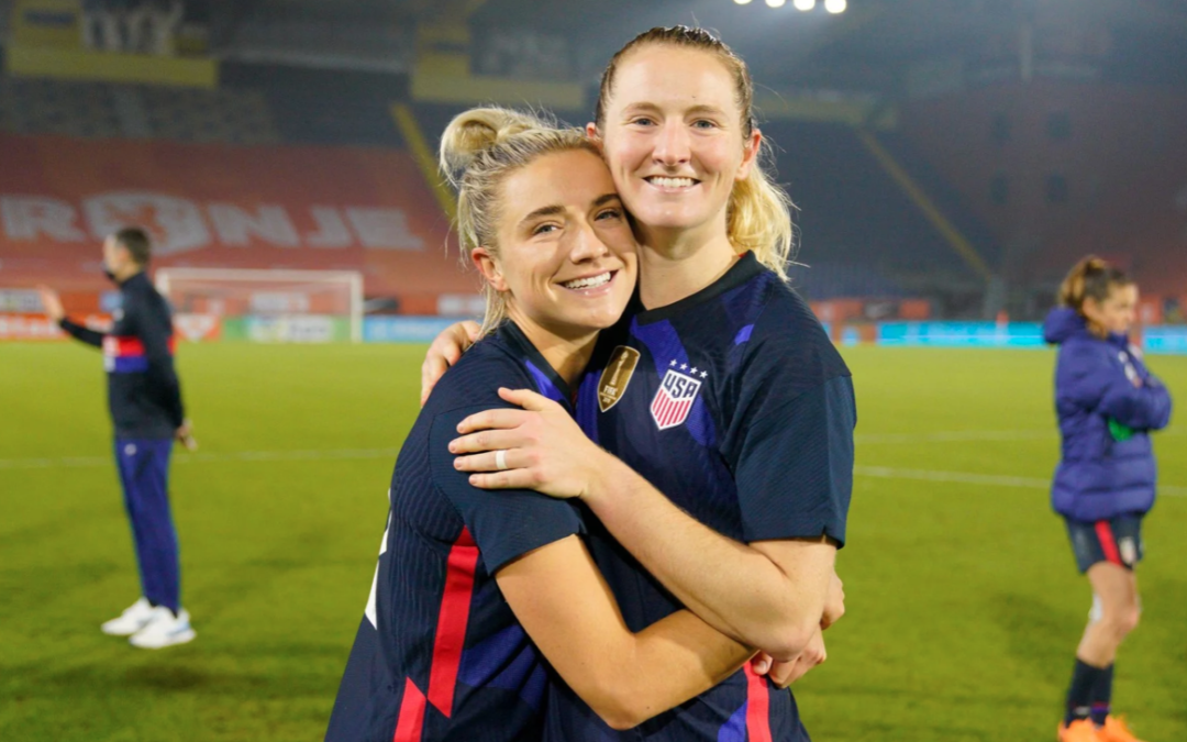 USWNT Stars and Sisters Kristie and Sam Mewis on Inspiring Each Other on Journey to Olympics